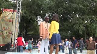 on a Thing (Called Love) featuring the Chi-lites Dancers - Dawud & Lura at Chicago SummerDance