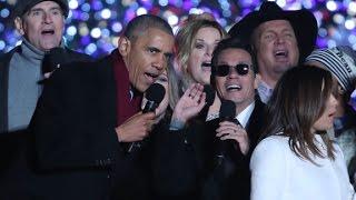 President Obama sings 'Jingle Bells'