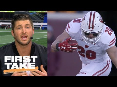 Tim Tebow says undefeated Wisconsin shouldn't be in the CFP | First Take | ESPN