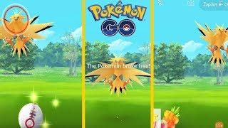 Zapdos Loucão no Pokémon GO! É Hora da Banana!mp4