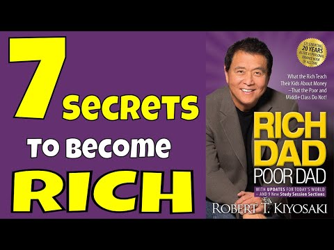 HOW TO GET RICH - Rich Dad Poor Dad Animated Book Review