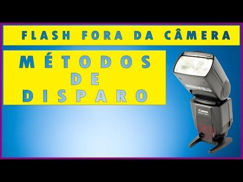 Como usar flash externo - Métodos de disparo