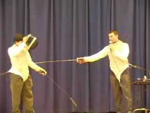 2005 - 7th Annual Brewer P.T.U. Winter Fun Day  9 of 15 Downeast School of Fencing.flv
