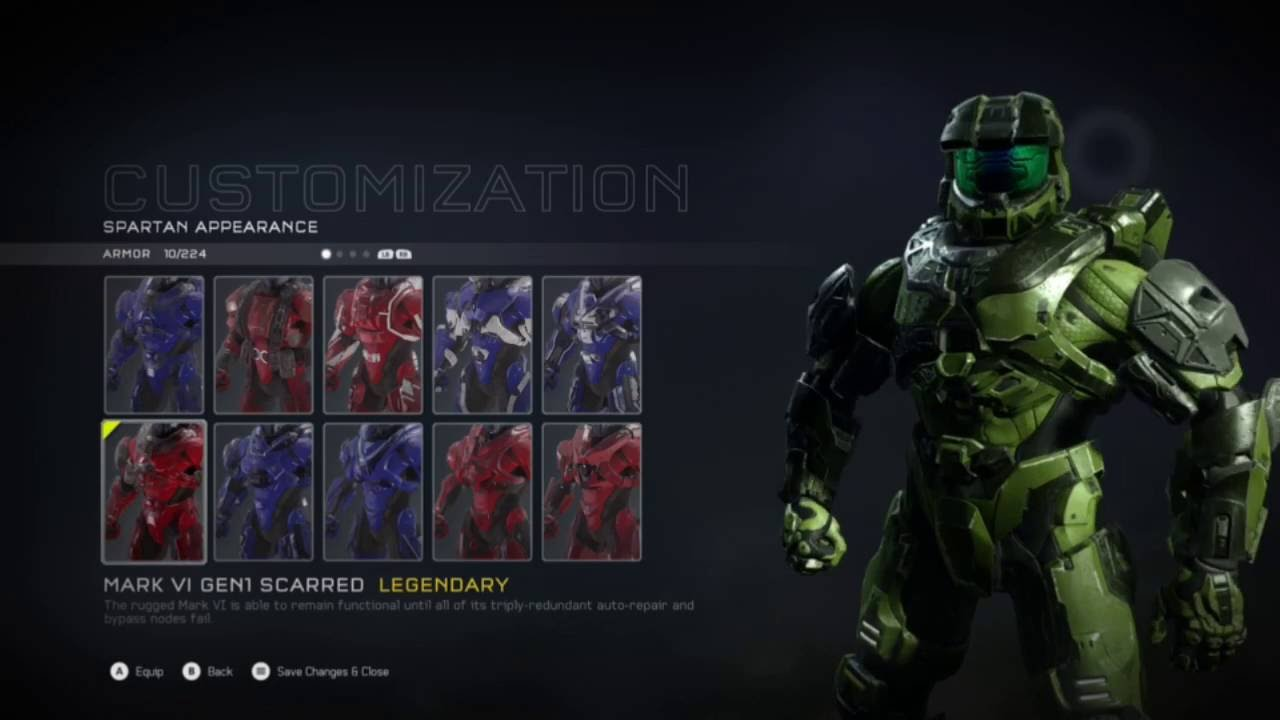 how to get mark vi armor in halo 5