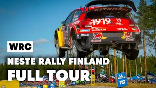 Exclusive Citroen Tour w/ Esapekka Lappi @Neste Rally Finland 2019 | WRC 2019