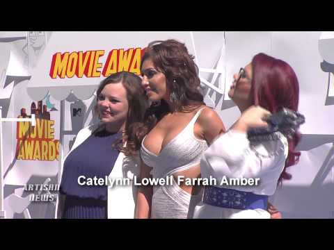 MTV MOVIE AWARDS RED CARPET - J-LO, SHAILENE WOODLEY, AMY SCHUMER, STARS OF TOMORROW