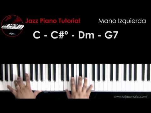 When You Wish Upon A Star' - jazz piano tutorial | FunnyCat.TV