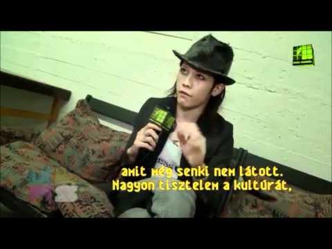 Miyavi interview 2011  (Hungary)