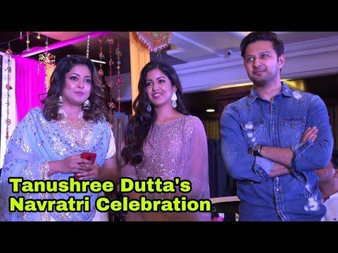 Tanushree Dutta's Navratri Celebration with Sister Ishita Dutta & Vatsal Seth