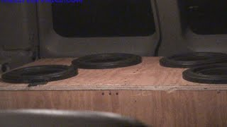 2 AQ 2200S ON 4 ASCENDANT AUDIO ARSENAL 12S IN DJ FRANK DOGS BURBAN!VEGAS BASS MEET VID 7