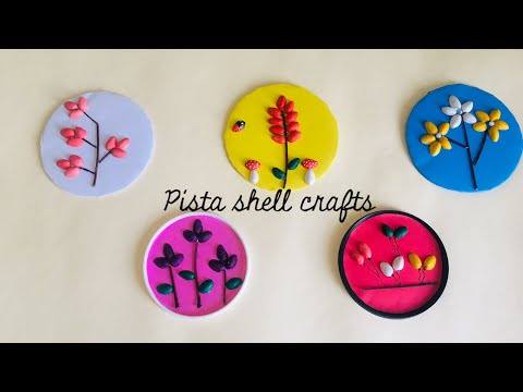 Pista Shell Crafts|| Diy Idea To Reuse Pista Shells|| Best Out Of Waste Idea for kids ||