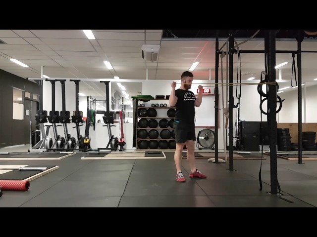 Y-Press to overhead squat