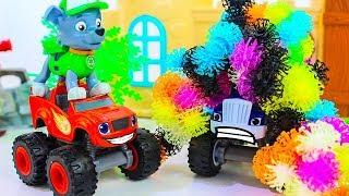 Мультики про машинки Вспыш и чудо машинки Супер Гонки Игрушки для детей Мультфильмы #промашинки