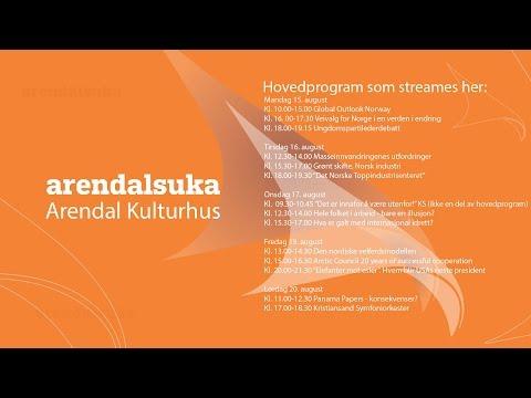 Arendalsuka 2016 - Grønt skifte. Norsk industri: Økt verdiskaping og null utslipp