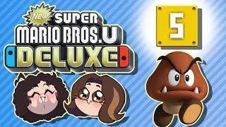 Super Mario Bros U Deluxe: Lights Off - PART 5 - Game Grumps