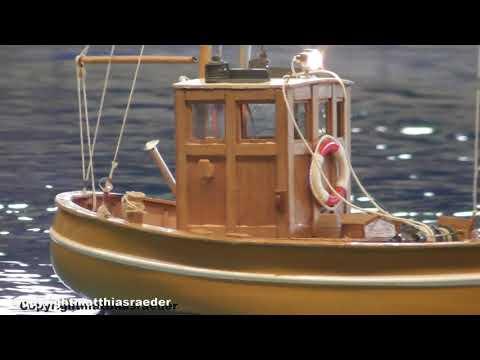Krabbenkutter Tön 12 Von Graupner ( RC Modellbau )
