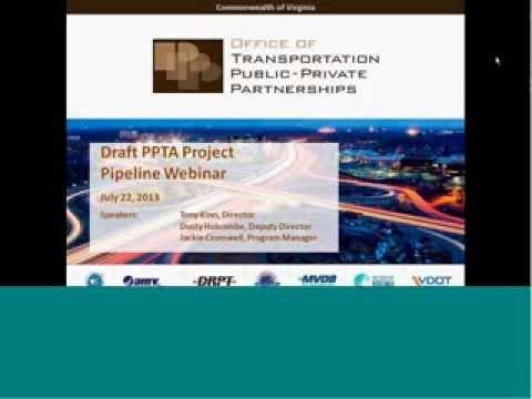 PPTA Pipeline Webinar Presentation for Industry
