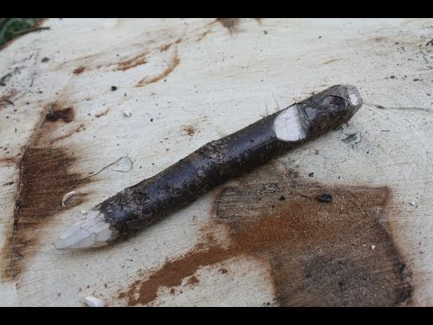 How to Make a Rough Wooden Tent Peg
