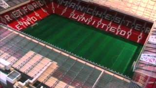 Scale Model of Old Trafford Football Stadium