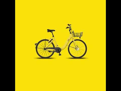 ofo bike sharing is here in Hackney