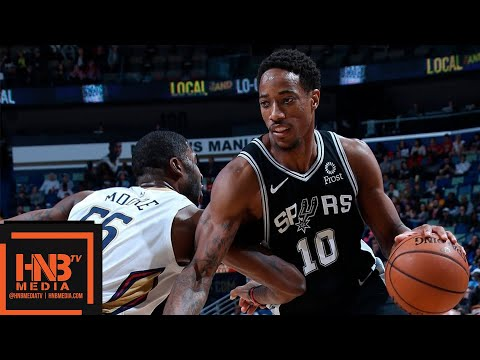 San Antonio Spurs vs New Orleans Pelicans Full Game Highlights | 11.19.2018, NBA Season