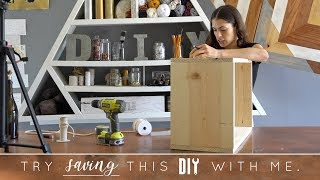 Try to Save This DIY With Me   Wine Holder