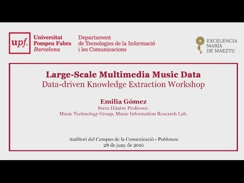 Large-Scale Multimedia Music Data