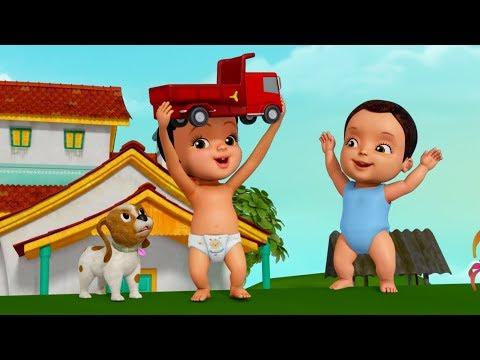 வண்டி வண்டி வண்டிதான் | Tamil Rhymes for Children | Infobells