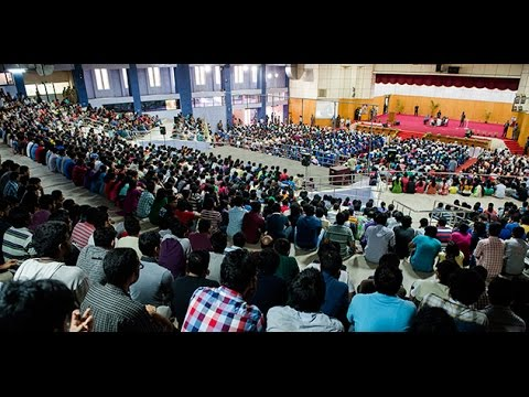 His Holiness the Dalai Lama's talk  at  IIT Madras 2015