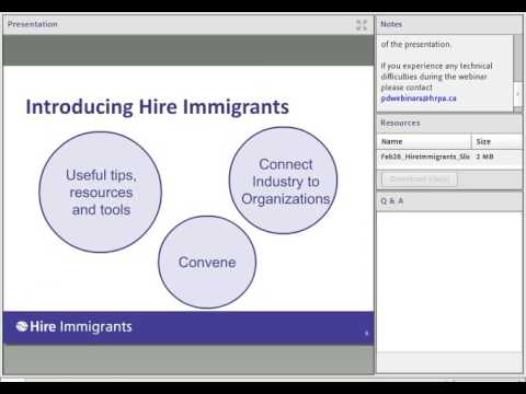 Employer Road Map:  A Step-by-Step Guide to Hiring Highly Skilled Immigrants
