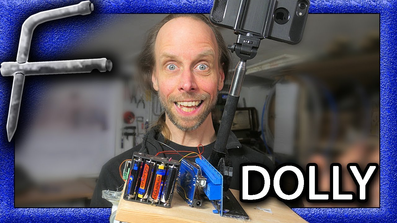 DIY CAMERA DOLLY for time lapse! Cheap and easy, with ...
