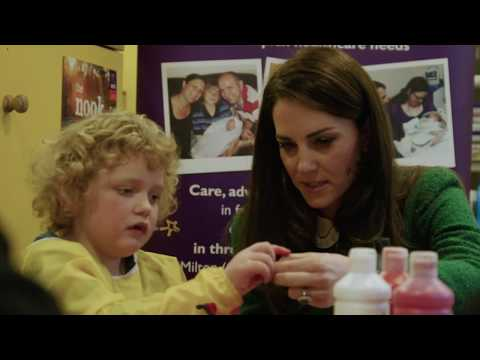 Her Royal Highness, The Duchess of Cambridge supports Children's Hospice Week