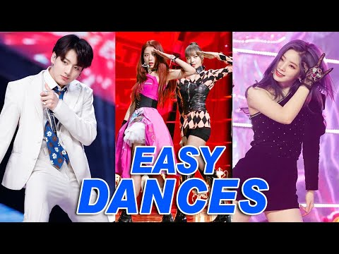 THE MOST EASY KPOP DANCES OF 2019