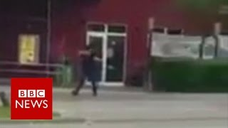 Munich gunman 'obsessed with shootings' - BBC News