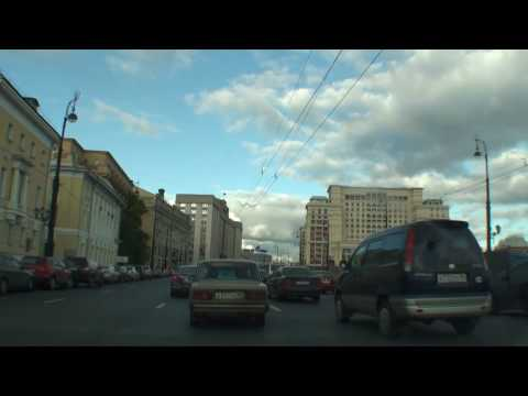 HD Weekend drive #1 (Moscow)
