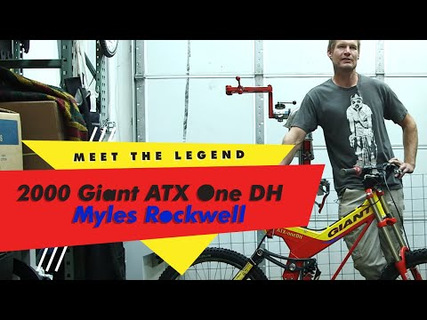 TPC Museum Series #1: 2000 Giant ATX One DH with Myles Rockwell