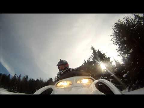 Snowmobiling Bighorn Mountains 2014