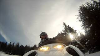 Snowmobiling Bighorn Mountains 2014