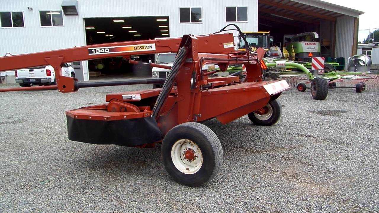 Hesston 1340 Mower Conditioner
