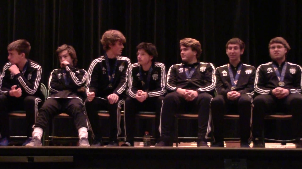 CCRS Boys Soccer Assembly  11-13-17