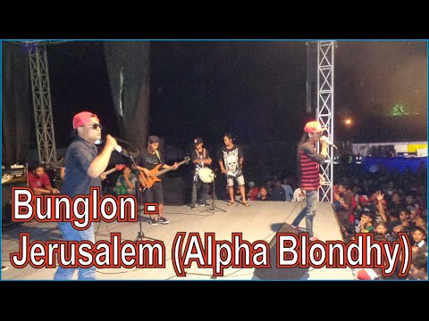 Bunglon - jerusalem Alpha Blondhy