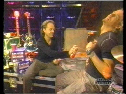 Metallica - Lars Ulrich on VH1's 'The Rock Show' (2000) [TV Broadcast]