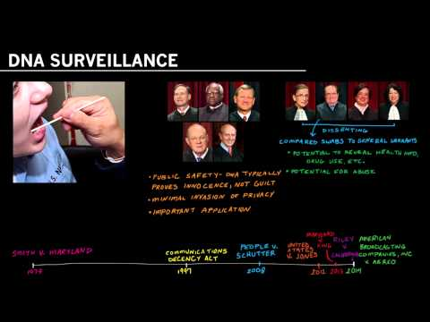 DNA Surveillance and Maryland v. King