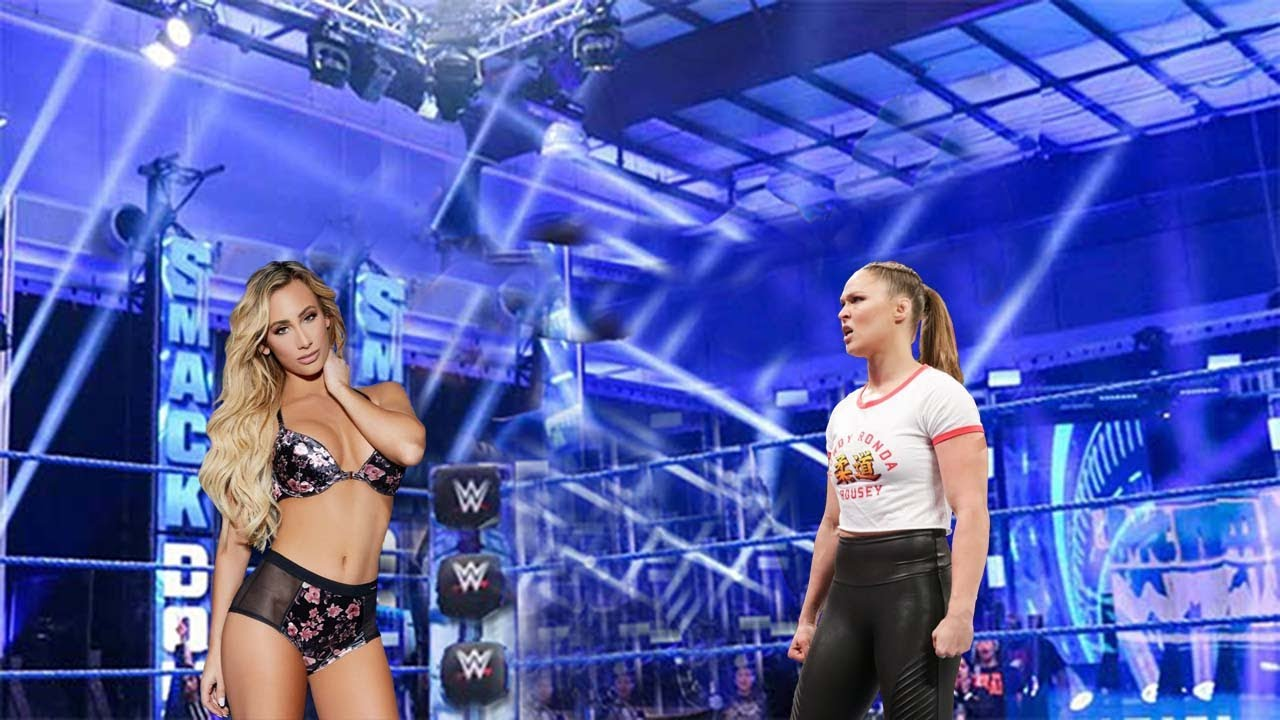 Ronda Rousey vs. Carmella IRON women's Full Match