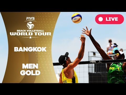 Bangkok - 2018 FIVB Beach Volleyball World Tour - Men Gold Medal Match