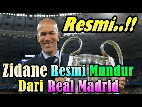 BREAKING NEWS !!! Zinedine Zidane Officially Resign From Real Madrid