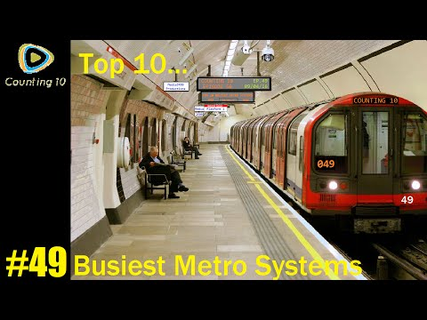 Top 10 Busiest Metro Systems