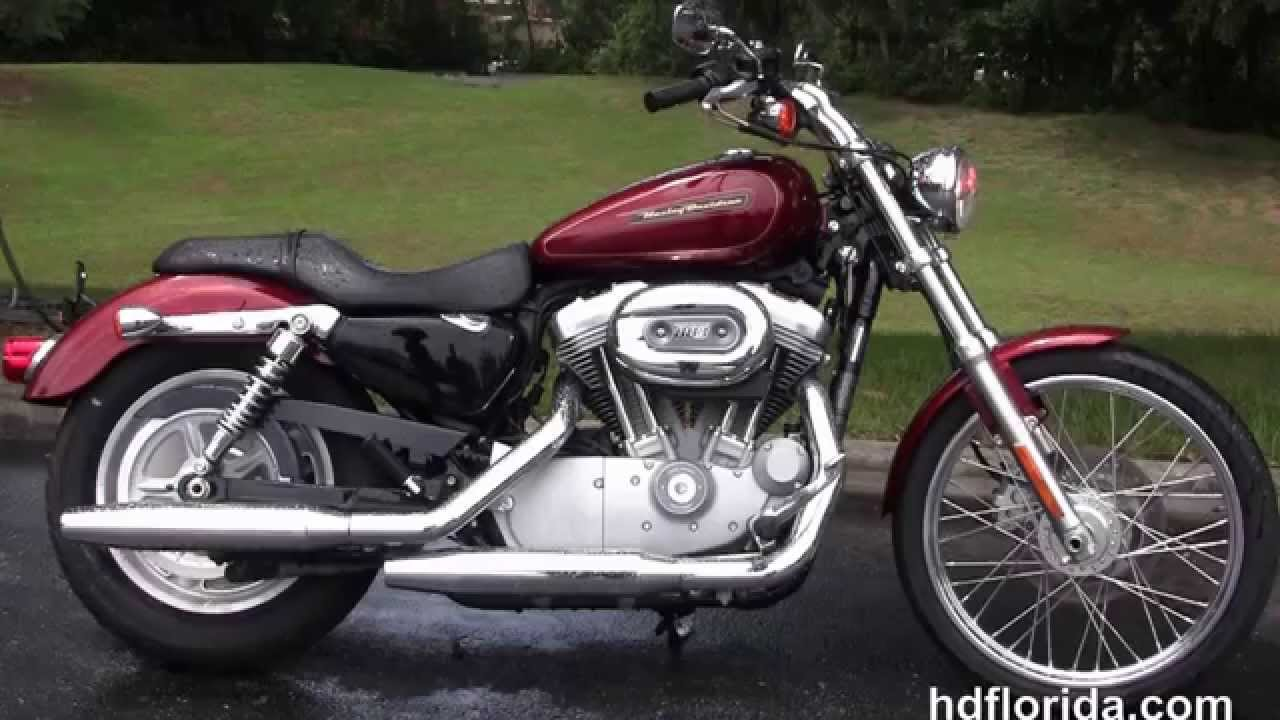 Used 2009 Harley Davidson Sportster 883 Custom Motorcycles for sale ...
