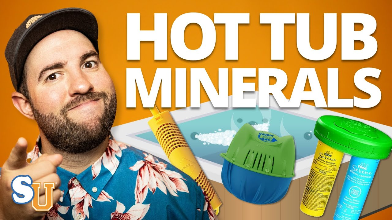 How To Use HOT TUB Mineral Sanitizers (And Are They Worth It?) | Swim University