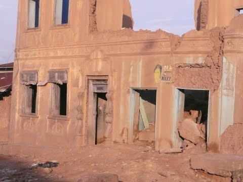 Ogbomosho (Ogbómọ̀ṣọ́), Nigeria, 2011 : palais, centre-ville, sites historiques (Annotations!)